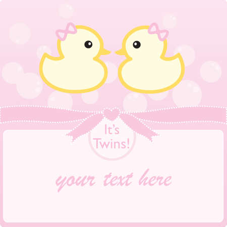 Its twin girls!