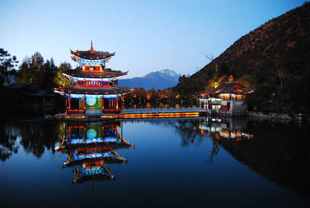 Heillongtan, Black Dragon Pool at Lijiang  photo