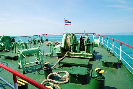 prow: prow of passenger ship