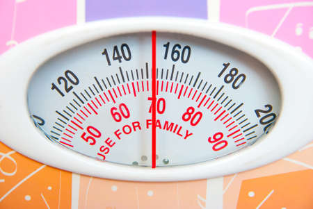 Weighing scales photo