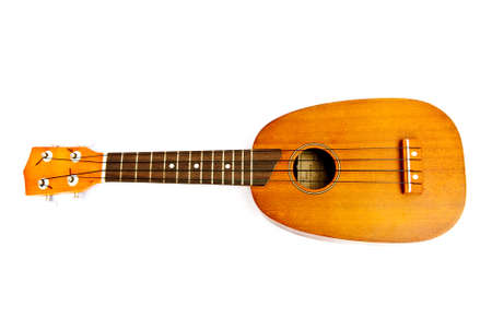 Ukulele guitar on white background Stock Photo - 13425037