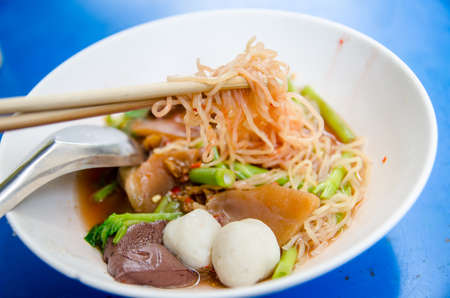 Thai Noodle Style  photo