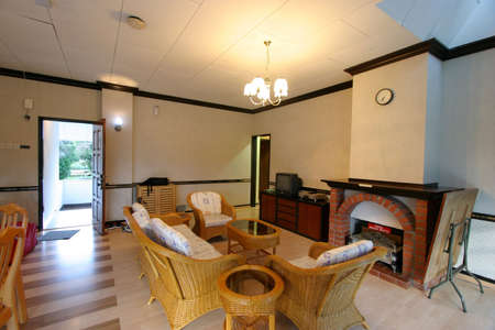 s video: Living room space in a small apartment in the tropical highlands