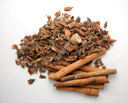 neutralizer: Cinnamon sticks with other mixed spices
