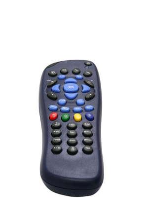 Blue multi purpose infra-red remote controller photo
