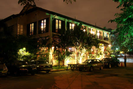 refurbished: Popular old colonial style night club at a resort hotel in Kuala Lumpur