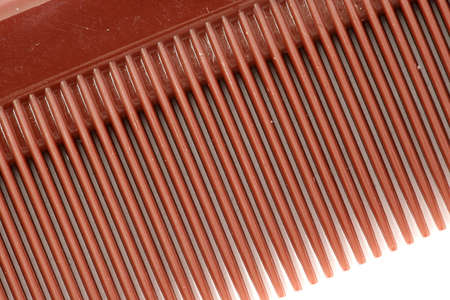 Close up shot of comb teeth Stock Photo - 500613