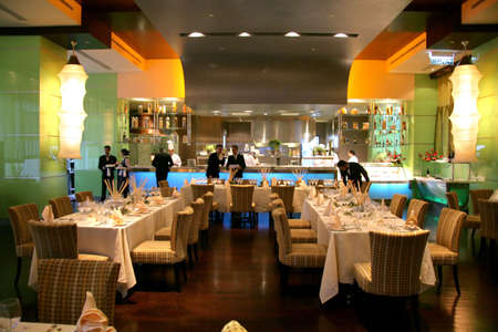 private club: Restaurant with ambiance serving western a la carte