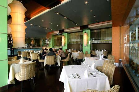 warmly: Restaurant dining area