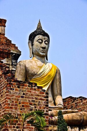 buddha stone Thailand photo