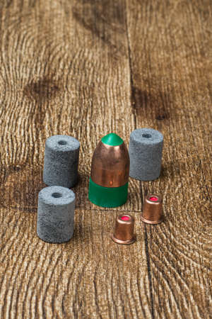 Black powder ammunition Stock Photo - 67137249