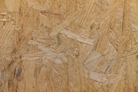 Close up of particle board for a background or texture