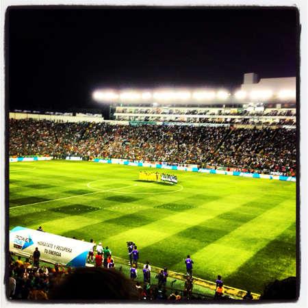 mx: Soccer Game  Stock Photo