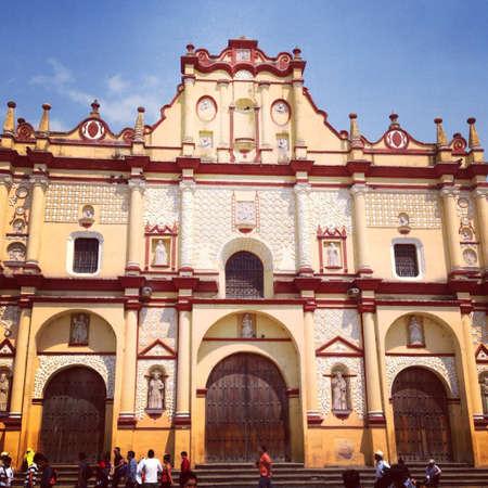 Church in Chiapas mex.