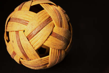 southeast asia: Rattan ball the southeast asia favorite sports