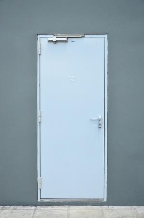 Staff only door. Stock Photo