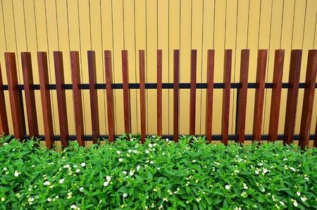 Wood fence. photo
