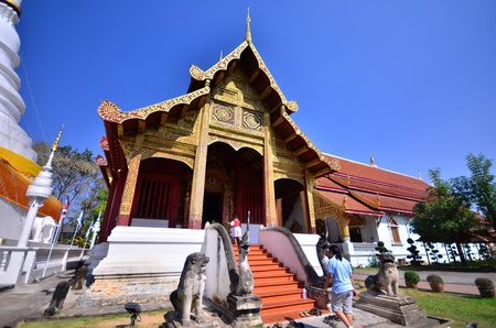 kirk: Thailand temple in north of Thailand.