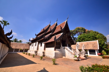 priory: Thailand temple in north of Thailand.