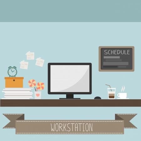 workstation vector
