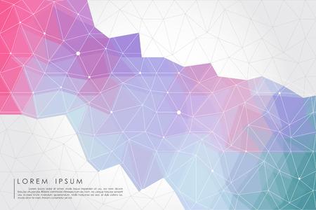 pastel polygon  Ilustração