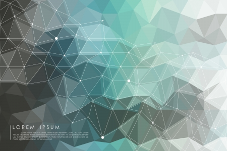rumpled: polygon Illustration