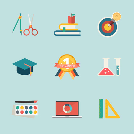 education icon vector Vector