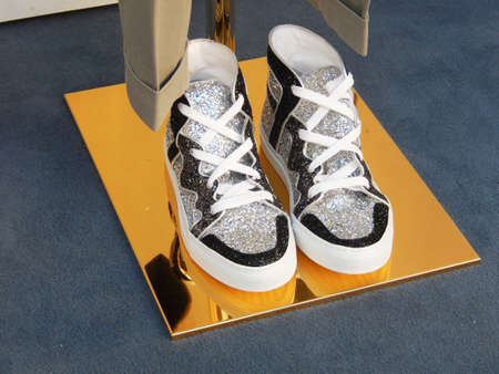 outsole: Shining Sneakers