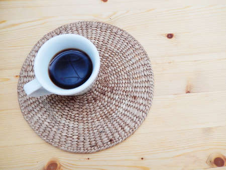 expressed: a cup of Italian Coffee Stock Photo