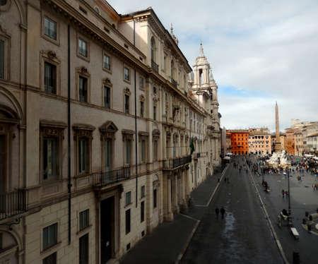 navona: Piazza Navona, Rome, Italy Stock Photo