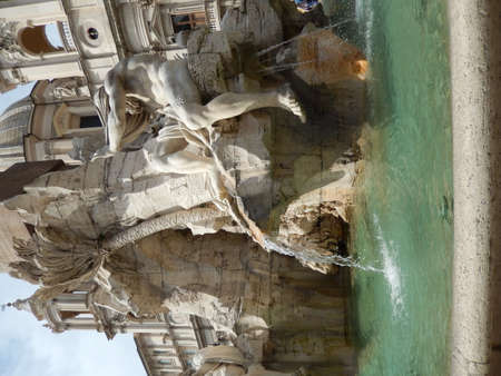 bernini: The Fountain of the Four Rivers in Piazza Navona