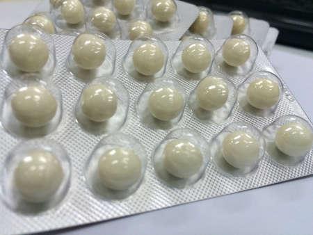 gelatina: C�psulas de gelatina blanda