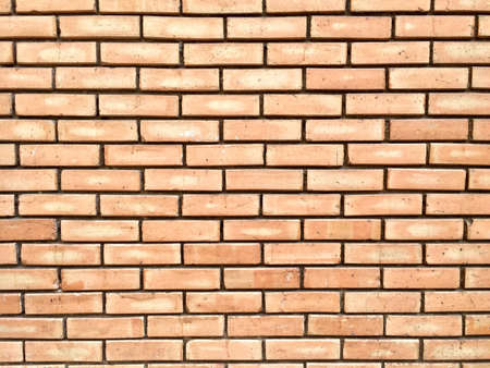 interior spaces: Red brick wall texture background Stock Photo