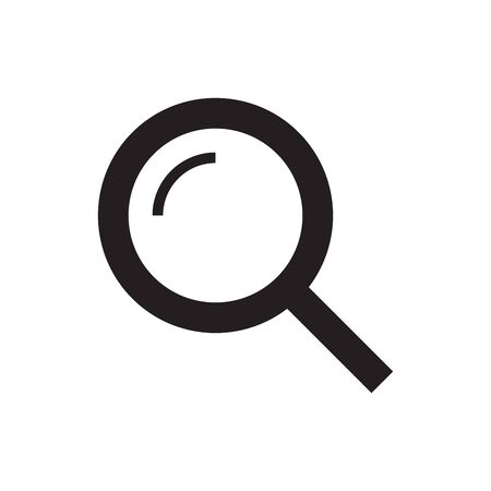 Magnifying glass icon. Search, find, seek icon. Иллюстрация
