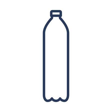 Plastic bottle for beer, soda or cola