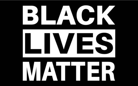 Black lives matter quote, phrase or slogan. 일러스트