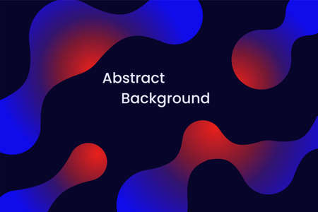 Abstract background with 3d fluid liquid shapes. Illusztráció