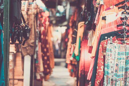 Tibetian Market Stock fotó - 137102529