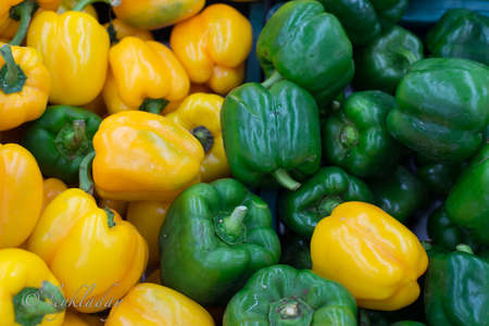Bell pepper sales in department