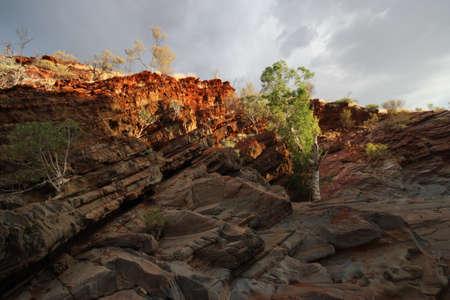 Sunlit Rocks Stok Fotoğraf