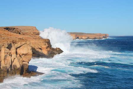crashing: Crashing waves