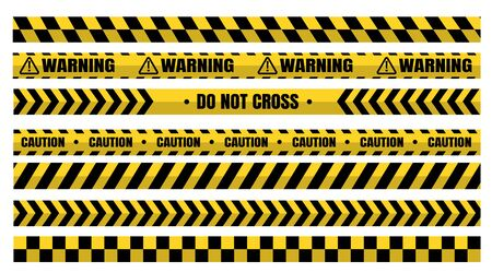 Hazardous warning tape sets must be careful for construction and crime.