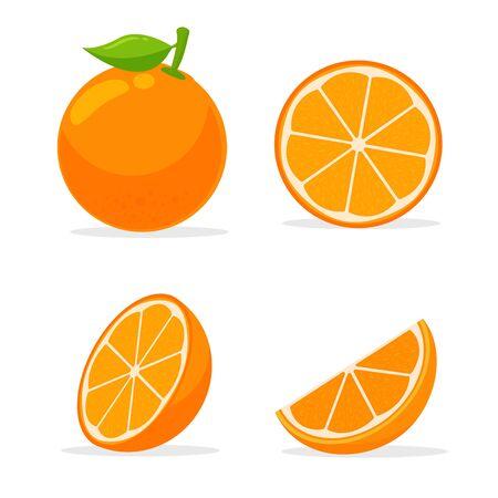 Frutas cítricas con alto contenido de vitamina C. Agrias, que ayudan a sentirse frescas.