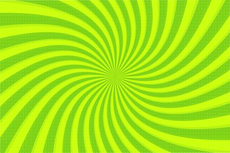 Green ray background. Vector radiant green circle looking beautiful.