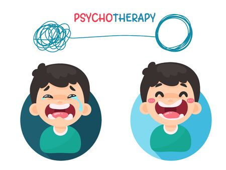 Psychotherapy. Treatment of mental problems by solving chaotic thoughts with a good attitude.