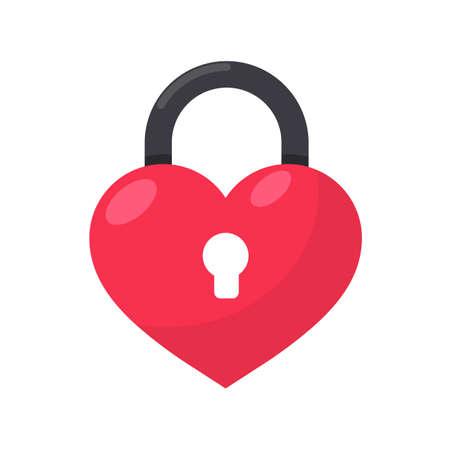 Locked heart padlock Valentines day heartbreak ideas