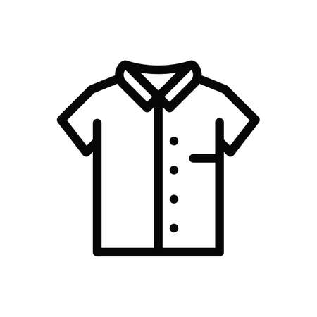 t-shirt Icon Vector. Simple flat symbol.