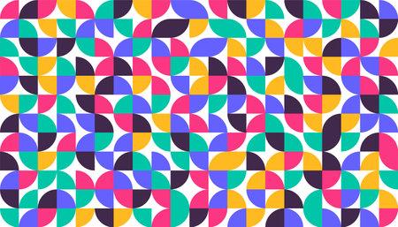 Geometric minimalist minimalist style art poster Abstract pattern design in scandinavian style 일러스트