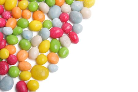 colored candy on white Stock Photo - 6117486