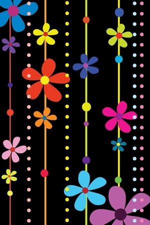 many beautiful flowers Stock Vector - 7793250